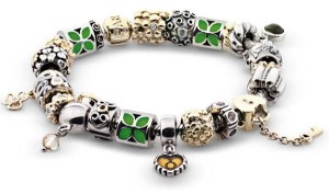 all kinds of charms by Pandora